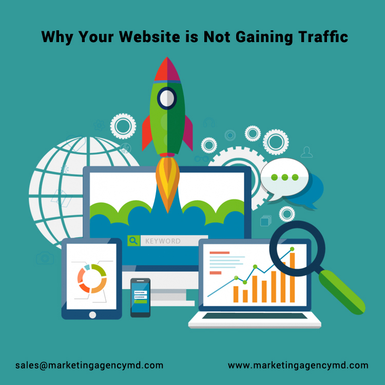 Reasons Why Your Website Is Not Gaining Traffic