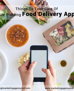 Things to Take Care of While Building Food Delivery Apps